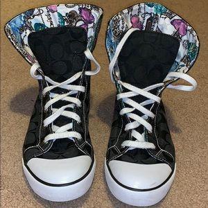 Coach Hightop Shoes